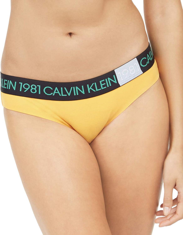Max 51% OFF Calvin Klein Women's 1981 Bold Bikini online shopping Panty Cotton