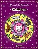 Zauberhafte Mandalas - Kätzchen: Ausmalbuch für Mädchen und Jungen ab 5 Jahre