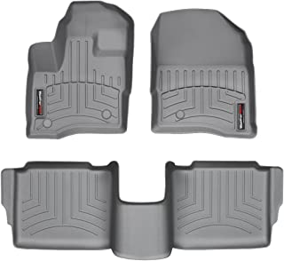 WeatherTech Custom Fit FloorLiner for Ford Taurus - 1st & 2nd Row (Grey)