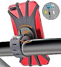 Bothink Soporte Móvil Bicicleta, Soporte Móvil Moto & Bici Ajustable Silicona Soporte De Teléfono para Bicicleta Manillar Compatible con iPhone Samsung y 4