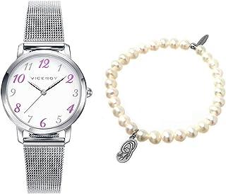 Watch + Viceroy Sweet Bracelet 42322-05 White Girl