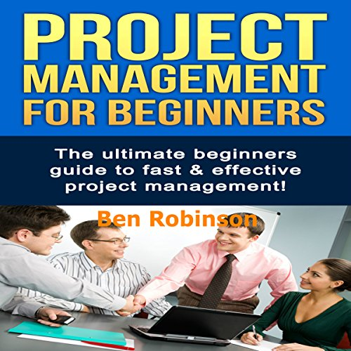 Project Management for Beginners audiobook cover art