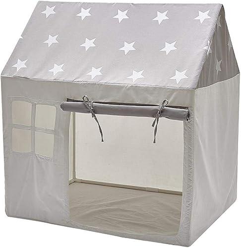 Dubleir Tente de Jeux pour Enfant Tente Cottage Pop-up pour Jouer dans Le Jardin .Tente Maison pour Enfants Utilisation intérieure et extérieure
