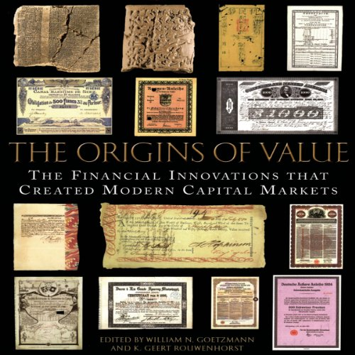 The Origins of Value audiobook cover art