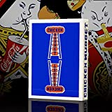Mazzo di Carte Chicken Nugget Playing Cards - Blu - Mazzi di Carte da Gioco - Giochi di Prestigio e Magia - SOLOMAGIA