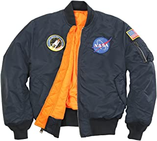 Men's NASA MA-1 Bomber Flight Jacket