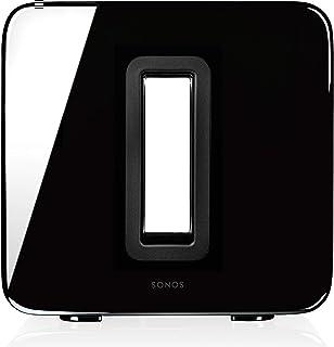 Sonos Sub, Subwoofer, voor Dynamische en Diepe Bassen, voor Alle Sonos Luidsprekers, WLAN, Zwart