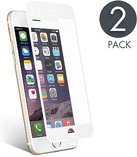 734d998981f aiMaKE Protector de Pantalla Compatible con iPhone 6 /iPhone 6s , 3D  Pantalla Completa Cristal