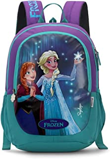 Skybags Frozen Champ 03 18 Ltrs Plum Casual Backpack (Frozen Champ 03)