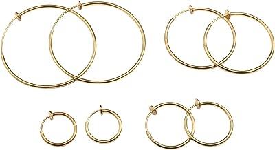 Best clip earrings hoop Reviews