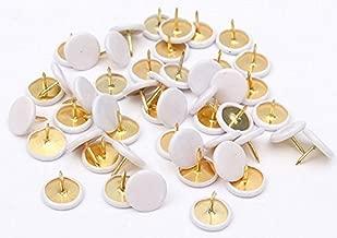 TSI Lot de 100 punaises Blanc