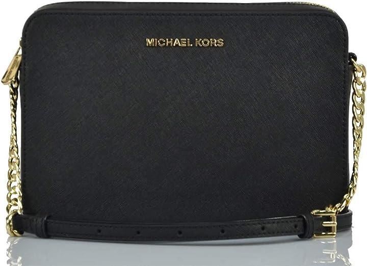 Borsa donna michael kors jet set borsa a tracolla da donna motivo con logo 35F8STTC3B