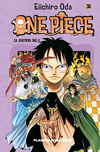 One Piece nº 36: La justicia del 9 (Manga Shonen)