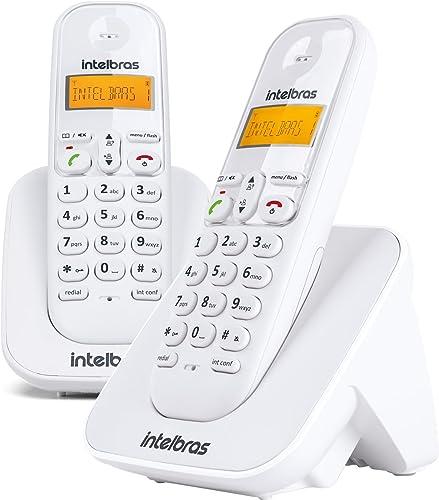 Telefone sem Fio e com Ramal Adicional, Intelbras TS 3112, Branca