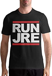 KellySotoUS Run JRE Mens Short Sleeve Cotton T Shirts