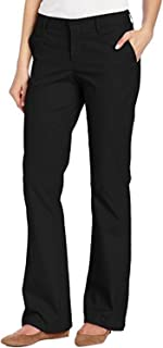 Women Stretch Twill Pants Bootcut Office Wear Slim Fit Pant Classic Ladies Trousers Dress Pants