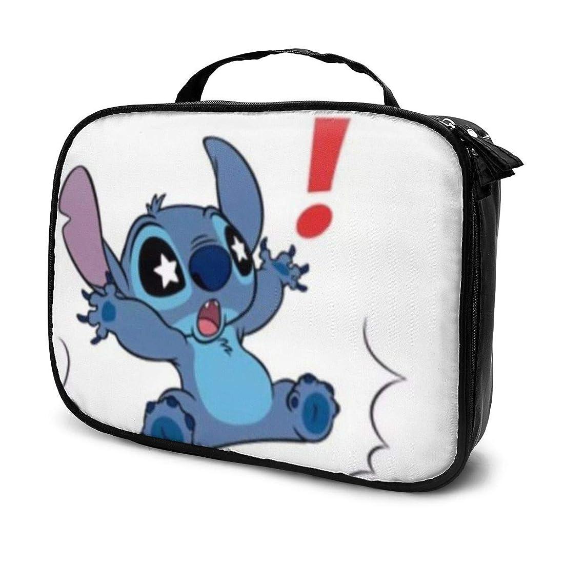 セメント瀬戸際実験室Daituスターアイズステッチ 化粧品袋の女性旅行バッグ収納大容量防水アクセサリー旅行