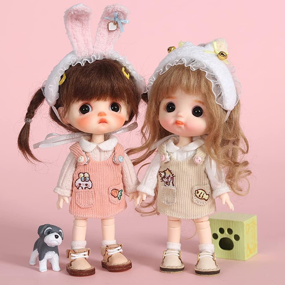 Trust XiDonDon Obitsu 11 High quality new OB11 Size Costume inches Doll 4.3 1