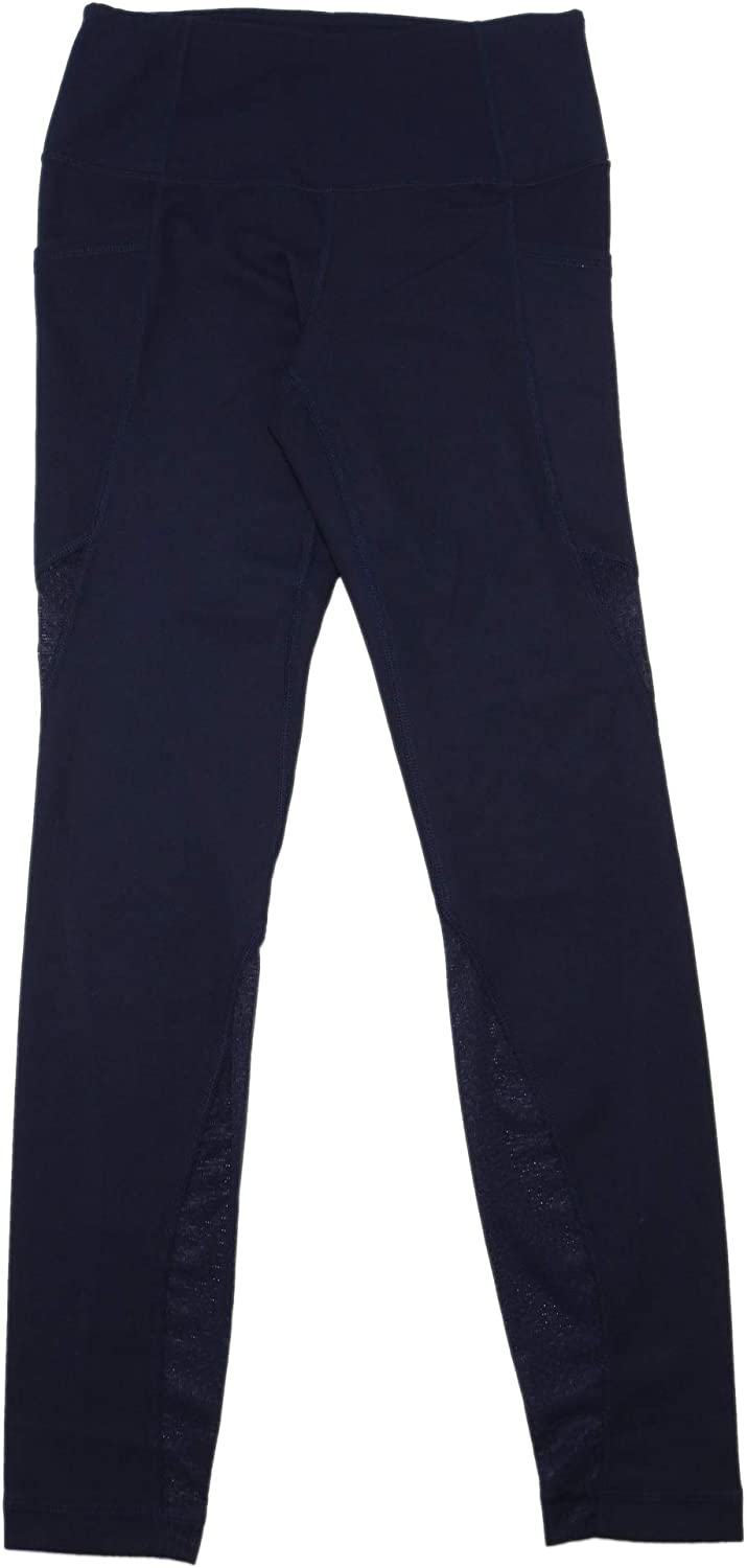 Active Life Womens Size Small Smart Device Pockets Active Leggings, Navy