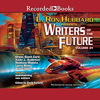 Writers of the Future Volume 31 audiobook cover art
