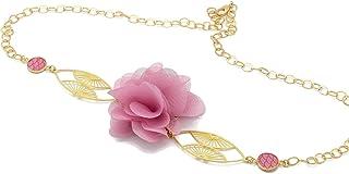 Fascia regolabile fiore ventaglio Giappone retro fiore di seta oro ottone 24k oro accessori per capelli art deco regalo fi...