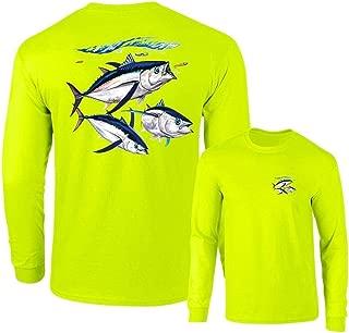 Albacore Tuna Fish Salt Water Fishing Long Sleeve T-Shirt