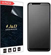 J&D Compatible for 8-Pack ZenFone Max Plus (M1) Screen Protector, [Anti-Glare] [Not Full Coverage] Matte Film Shield Screen Protector for ASUS ZenFone Max Plus (M1) Matte Screen Protector
