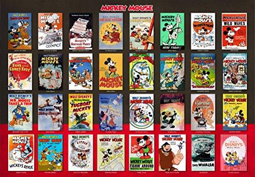 1000ピース ジグソーパズル ディズニー ムービーポスター コレクション(51x73.5cm)