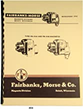 Fairbanks Morse Magneto Instruct & Parts Manual for FM-X4A & FM-X4B Mags