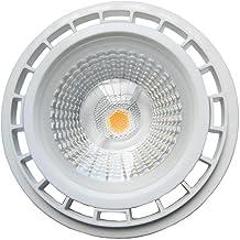 Akaiyal 12W AR111 GU10 Lámpara LED 220V COB ES111 Blanco Cálido 3000K 1200 Lúmenes 60 Grados como Reemplazo de la Bombilla Halógena 75W (1-Pack, No Regulable)