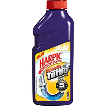 Harpic Destop Destapacaños Turbo, 500ml