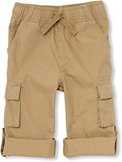 The Children's Place Baby-Boys 3000115 Roll Up Solid Cargo Pants Pants