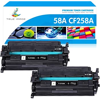 Black, 2-Pack Amstech Compatible Toner Cartridge Replacement for HP 58A CF258A 58X Toner for HP Laserjet Pro M404n M404dn M404dw M428 HP Laserjet Pro MFP M428fdw M428fdn M404 Ink Printer NO Chip