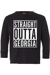 Tenacitee Mens Straight Outta Georgia T-Shirt