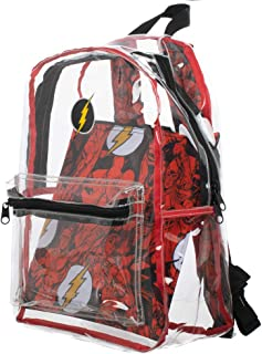 DC Comics The Flash Clear Backpack