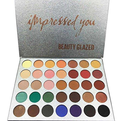 Matte Eyeshadow Palette 35 Couleurs Yeux pigmentés Maquillage par UmayBeauty