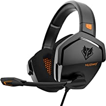 XIBERIA Gaming Headset for Xbox One/PS4/PS5/PC/Mac,Controller,Noise Cancelling Over Ear Headphones with Mic, Bass Surround...