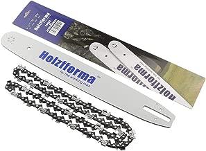 Farmertec Holzfforma 18Inch Guide Bar &Saw Chain Combo .325 .063 74DL for Stihl Chainsaw MS260 MS261 MS270 MS271 MS280 MS290 MS311 MS360 024 026 028 029 030 031 032 034 036