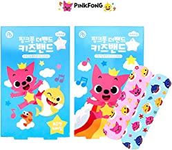 Baby Shark Family Kid Friendly First Aids 32pcs Character Pattern Bandages : 2 Packs
