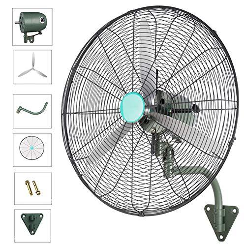 Cyg Wand-Ventilator, Starke Industrie Wandmontage-Lüfter Hohe Energie Tischventilator Super Starker Wind füR Werkstatt/Outdoor/Gastronomie Wall Mounted Fan (Size : 75cm)