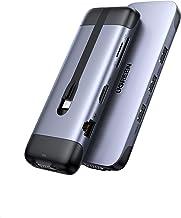 UGREEN HUB USB C 9 En 1 a HDMI 4K, 3 Puertos USB 3.0, Lector Tarjeta SD TF, Gigabit Ethernet, VGA 1080P, 100W Power Delive...