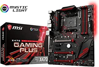MSI Performance Gaming AMD X470 Ryzen 2 AM4 DDR4 Onboard Graphics CFX ATX Motherboard..