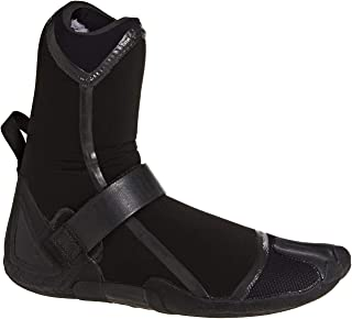 Billabong Furnace Carbon Ultra 7mm Split Toe Boots - Mens Black - Great for Warmth with Easy Adjustment for Comfort Quick Dry
