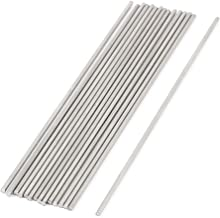 uxcell RC Airplane Car Part Stainless Steel Round Rods 1.5mm x 100mm 15 Pcs