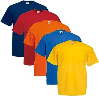 Fruit of the Loom Original T Logo Men's T-Shirt, Pack of 5