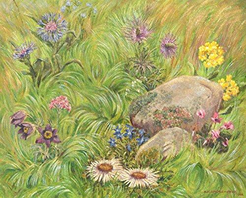 Sulis Fine Art Arthur Victor coverley-price (1901–1988)–1946acrilico, studio floreale