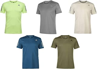 Official Brand Adidas OTR Training T-Shirt Mens Top Tee Shirt Fitness Activewear Blue Small