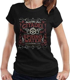 RHEYJQA Immortan Joes Citadel Spring Water Mad Max Women's T-Shirt