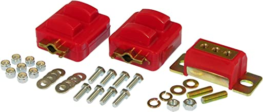 Prothane 7-1908 Red Motor and Transmission Mount Kit