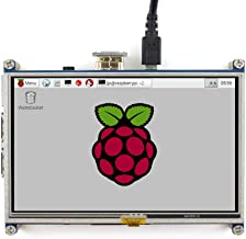 Waveshare Raspberry Pi LCD Display Module 5Inch 800480 Tft Resistive Touch Screen Panel Hdmi Interface for Any Model of Rapsberry Pi(Pi 2) A/A+/B/B+/2 B